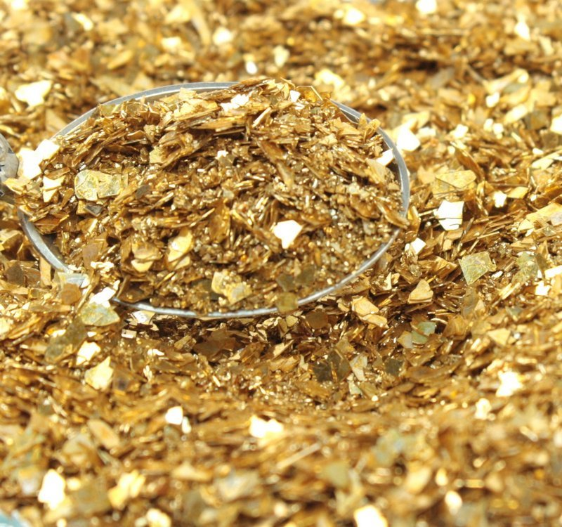 Gold Fusion Multigrain Shard Glitter -  311-4080-GD